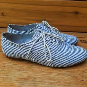 Steve Madden Trouser Oxford shoes pinstripe